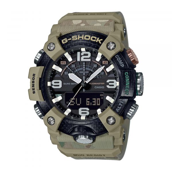 Casio Uhr G-Shock Mudmaster GG-B100BA-1AER oliv