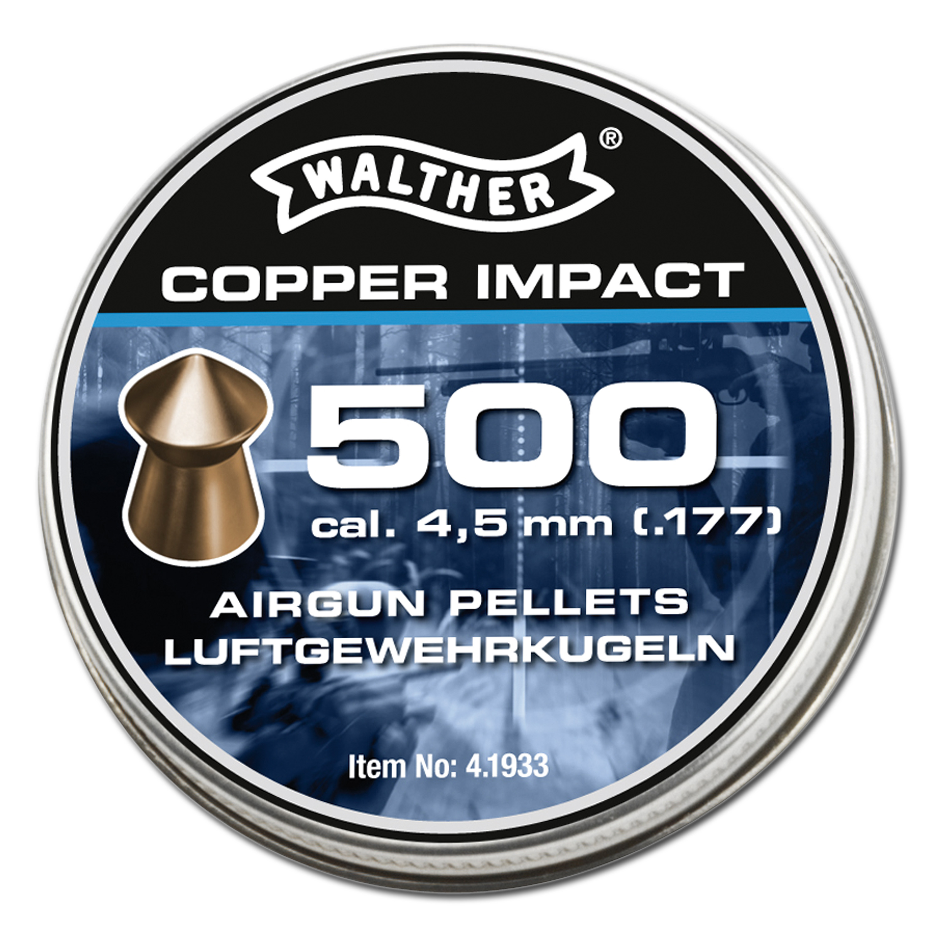 Walther Copper Impact Diabolos 4,5 mm