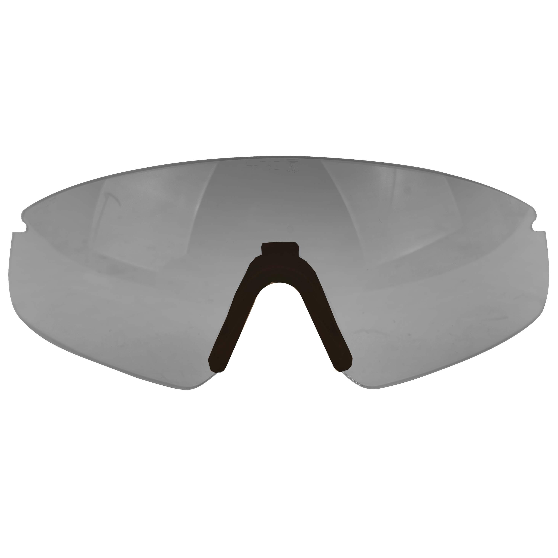 Revision Ersatzglas Sawfly schwarzer Nasensteg smoke Glas