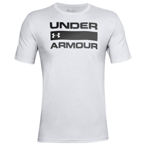 Under Armour Shirt Team Issue Wordmark SS halo gray