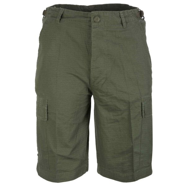 Bermuda Shorts Rip-Stop washed oliv
