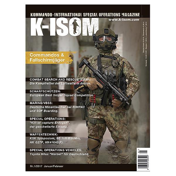 Kommando Magazin K-ISOM Ausgabe 01-2017