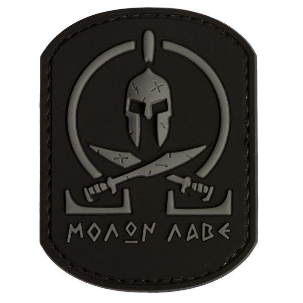 TAP 3D Patch Molon Labe Spartan schwarz