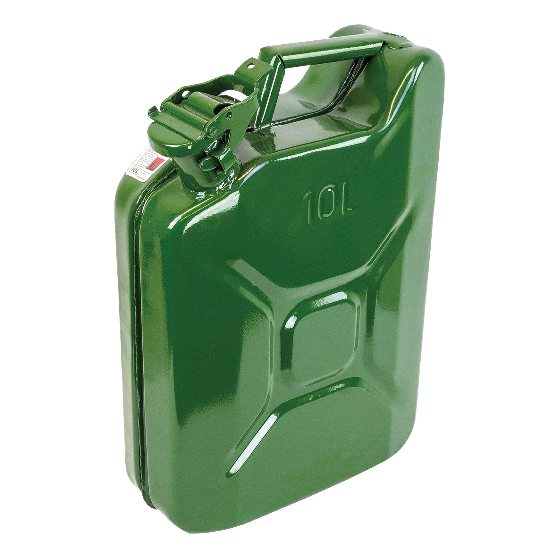 Highlander Stahl-Kanister 10L oliv
