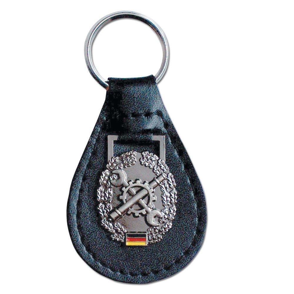 Schlüsselanhänger mit Barettabz. Instandsetzung