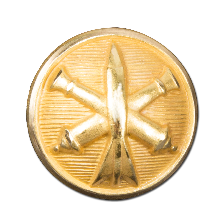 franz. Knopf artillerie gold ø 15 mm
