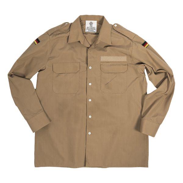 BW Bordhemd Tropen khaki gebraucht